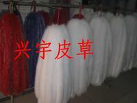 Fox fur vigoreux white fur collar cap raccoon fur cap of clothes cuff wool accessories