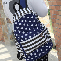 Fashion stripe summer fashion bag school bag  casual bag