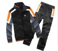 Fashion Men's Tracksuit Sweatsuit sport Hooded Track Sweat Jogging Sport Suit Sweatshirt  men Sweat Pants Hoodies Sweatpants