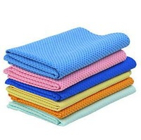 Only OPP bag  package without box  Random Color  about 30*42 cm Magic baby towel bath towel sport towel pet towel  MT001a-2
