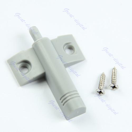 Free Shipping 10Set/Lot Gray Kitchen Cabinet Door Drawer Soft Quiet Close Closer Damper Buffers + Screws(China (Mainland))