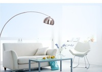 2014 new released small iron shade metal electrogilding floor lamp E27 touch on incandescent bulb parlor W:90*H:180cm