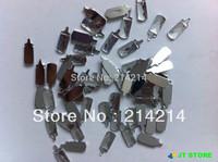 Free shipping(2000pcs/lot) Acrylic baby milk bottle rhinestone baby shower diamond confetti party favors 7mm*18mm