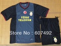hot sale! 13/14 season Galatasaray away kits,Galatasaray with embroidery logo Galatasaray uniforms ,  fast shipping