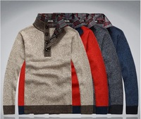 2013-hot of the world's free shipping.New Winter Men's high-Neck Cashmere Sweater Jumpers 66