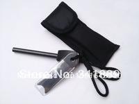 Hot! Black/Orange Kershaw Fixed Blade Knife, 8Cr13MOV Blade, Rubber Handle, Survival Knife, Hunter Knife, Camping Tool