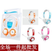 NEW Prince ad-919mv folding headset earphones headset computer earphones multicolour belt