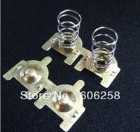 DIY Element copper 18650 battery Contact piece , Anode / Negative Electrode  10Pair