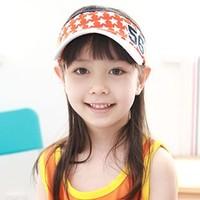 Child baby summer visor hat sun hat sunbonnet male female child cap hat bonnet free shipping
