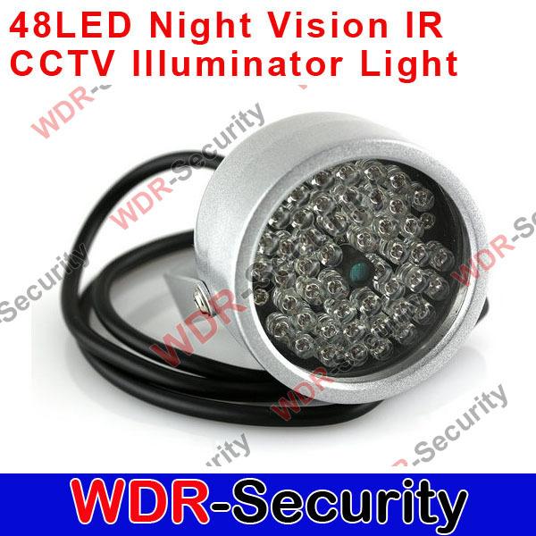4pcs 48 LED illuminator Night Vision IR Infrared light for CCTV Camera(China (Mainland))