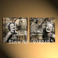Marilyn Monroe  Canvas Print  Canvas Art Home Decoration 50x50cmx2-unframed