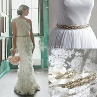 Wedding dress sash cleaer crystal beaded pearl wedding dress waistband satin clear beadings sash wedding dress belt
