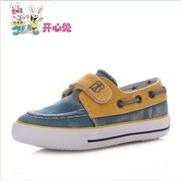Free shipping Children shoes boys shoes 2013 female child canvas shoes breathable children single shoes