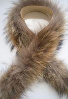 Raccoon fur real fur Hat strip decoration fur vigoreux fur collar fur cap brim shoes cover cuff