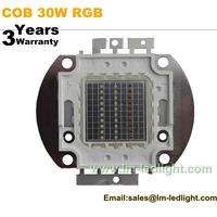 COB 30W RGB LED Light Source for LED Washer Light