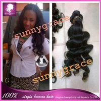 Brazilian Virgin Hair Extension Brazilian Loose Wave Human Hair Weave Wavy 3/4pcs Cheap Hair Brazilian Hair Weave Bundles