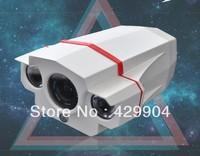 2013 NEW 1000tvl cmos IR-CUT HD waterproof outdoor camera with 2pcs Array led lights 20m night vision 8MM standard Lens