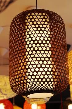 2014 real army green wood 1 no new antique lamp lanterns bamboo lantern pendant light modern chinese style 3550  free shipping