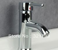 Free shipping!  super hot! cheap chrome bathroom faucet basin sink mixer tap,single hole