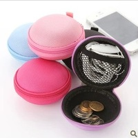 Min Order Is $10(Mix Order)Free Shipping Hook headphones round against pressure change Pouch Bag Free shipping high