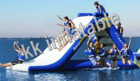 Acheter toboggan gonflable jeux de sport de l 39 eau piscine - Structure gonflable eau ...