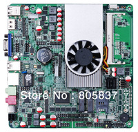 Ultra Slim DC Dual Display 1037 Industrial Motherboard with 6*COM