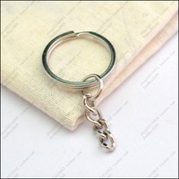 50pcs/lot 25mm key ring keychain keyring extend chain Y1034