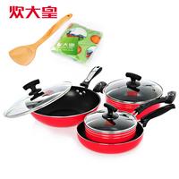 Big 9 piece set pot group set wok pot set cooking pot non-stick pots and pans