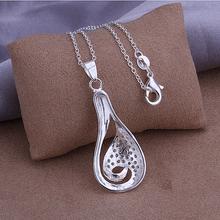 Wholesale 925 silver pendant necklace silver jewelry Necklace 925 necklace 925 sterling silver charm necklace P302