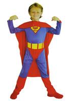Halloween cotumes for children superman full set for kids boys Fantasia Infantil