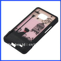 C18For Samsung Galaxy S2 i9100 Splited Cat Birdcage Light Hard Case Cover Skin Protecter Hot Sell Free Shipping