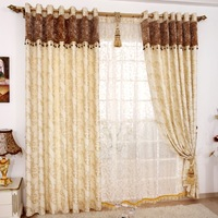 Lido gold quality chenille fabric fashion dodechedron thickening luxury curtain