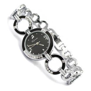 Holiday gift sale KIMIO Crystal Music Painting Watch women ladies fashion dress quartz wrist watch AB1122(China (Mainland))
