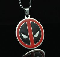 Deadpool Super Hero Xmen Pendant Chain Metal necklace Fashion Boy Man