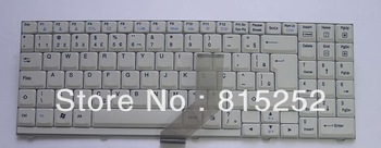 New and  original! Brazil  BR  white  Laptop Keyboard for LG S510  MP0375