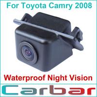 Rearview Camera Back Camera Car Camera Backup Camera for Toyota Camry 2008 Waterproof Night Vision Wide Angle 170 Degress