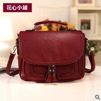 Free shipping Bags 2013 spring the trend of fashion vintage women's handbag messenger bag one shoulder bag women's