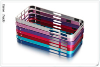 0.7mm ultrathin Aluminum Metal Bumper Case For iphone 5 5s + Retail Package,MOQ:1pcs,Free Shipping, A0212