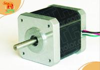4-Leads Nema 17 Stepper Motor 4200g.cm,2.4A,0.9degree,5mm shaft , 2phases CNC of wantai 3D Reprap Printer Makerbot 42BYGHM810
