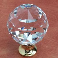 Fashion european style Austria crystal diamond  knob  furniture handle for high grade shoes cabinet/closet/cupborad