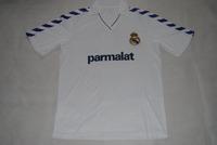 1982 retro thailand quality real madrid white home shirts