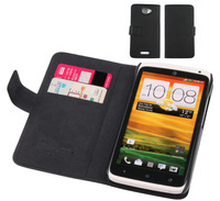 2Color Doormoon, case for HTC S720e G23 One X,leather case mobile phone case, high quality, low price, Free shipping