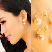 Min.order is $15 (mix order) 2013 New Jewelry ! Fashion elegant Imitation-pearl earring for women R3802