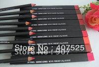 20pcs/lot mc brand makeup NEW EYE KOHL Colors eyeliner pencil / Lip pencil 1.45g new in box dropship free shipping
