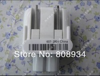 500Pcs/Lot AC Power Adapter US CA Detachable Plug   Head For iphone MACBOOK IPAD AC Charger Magsafe Free Shipping By DHL