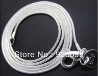 Sale-NJ028 Hot sell  Promotion Special Offers Free shipping factory price wholesale IMM 925 Silver snake chain