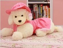 Cão Frete grátis brinquedo de pelúcia Caniche de brinquedo de pelúcia de presente de Natal 40 centímetros(China (Mainland))