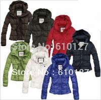 2013 Down jacket women fashion Outerwear winter Casual zipper warm Shorts coat Free shipping 9 colors
