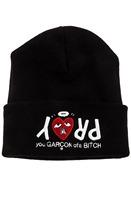 Free shipping Fashion Hiphop PRAY you Garcon ofa bitch beanie in Black snapbacks cap hat ,Homies Beanie Winter Knit Wool hats