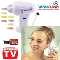 2013 Free Shipping WAX VAC EAR CLEAN CLEANER CLEANING SYSTEM WAXVAC VACUUM AS SEEN ON TV